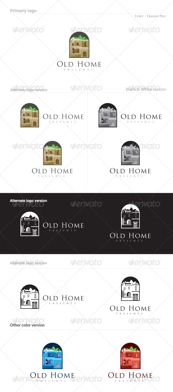 GraphicRiver Old Home 8774935