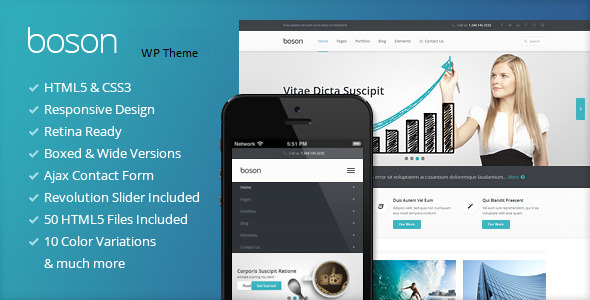 ThemeForest Boson MultiPurpose WordPress Responsive Theme 8645496