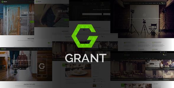 Grant | Multipurpose PSD Template
