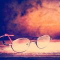 Old Glasses on Desk - PhotoDune Item for Sale