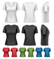 Set of colorful female t-shirts. - PhotoDune Item for Sale