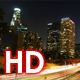 Downtown & Freeway Los Angeles Timelapse Night HD - VideoHive Item for Sale
