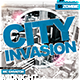 City Invasion Party Flyer