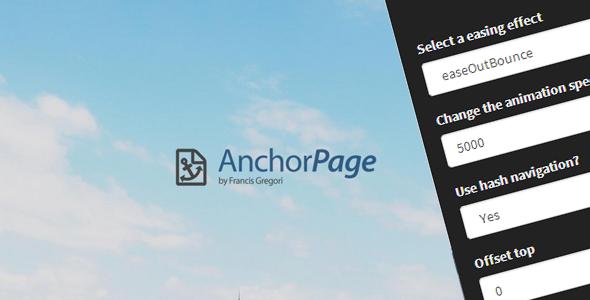 CodeCanyon Anchor Page 8776275