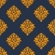 Retro Orange Seamless Pattern - GraphicRiver Item for Sale