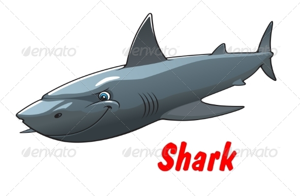 GraphicRiver Shark Character 8776970