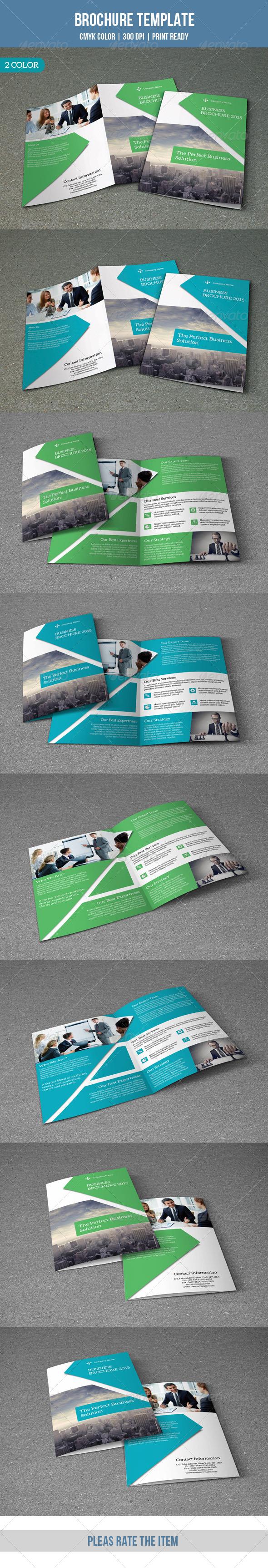 GraphicRiver Bifold Business Brochure-V123 8777143