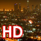 Los Angeles Timelapse From Mulholland Drive Night  - VideoHive Item for Sale