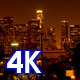Downtown Los Angeles at Night  - VideoHive Item for Sale