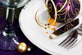 Christmas And New Year Holiday Table Setting - PhotoDune Item for Sale