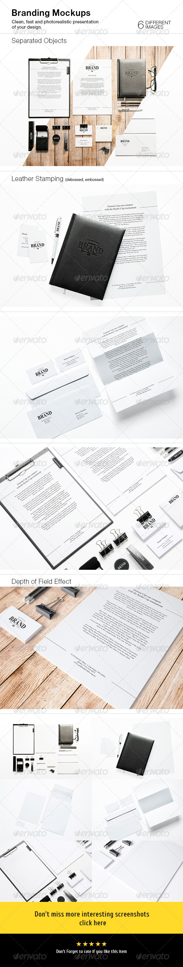 GraphicRiver Branding Mock-Ups 8778201