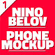 Nino Belov Phone MockUp - GraphicRiver Item for Sale