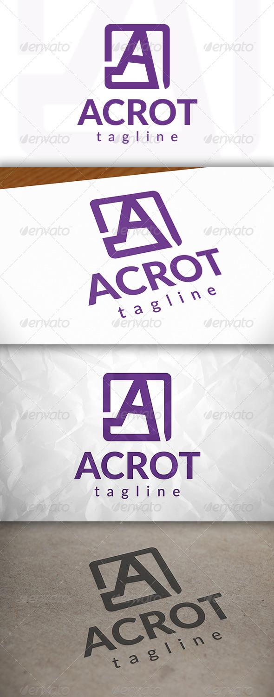 GraphicRiver A Letter Logo 8778655