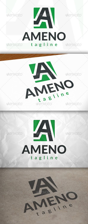 GraphicRiver Letter A Logo 8778740