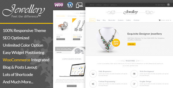 ThemeForest Jewellery WooCommerce Responsive Theme 8778747