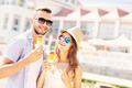 Young couple and ice-cream - PhotoDune Item for Sale