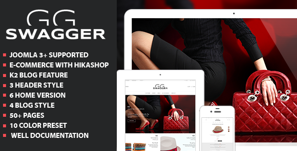 ThemeForest Swagger Multi-purpose Joomla Templates 8752346