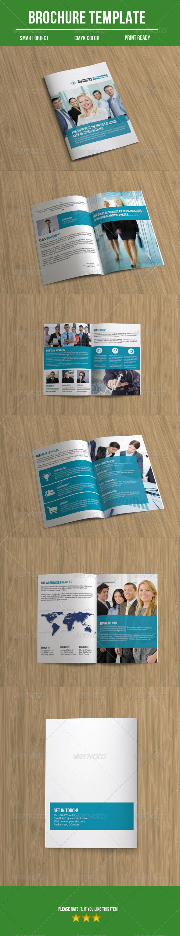 GraphicRiver Business Brochure 8780797