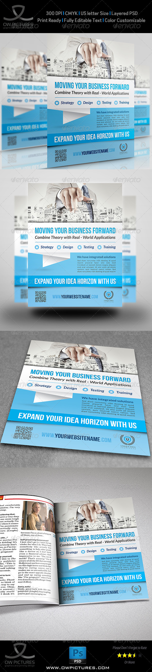 GraphicRiver Corporate Business Flyer Template Vol.12 8780800
