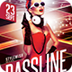 Bassline Flyer - GraphicRiver Item for Sale