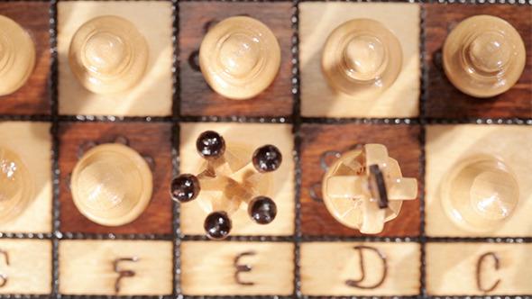 Chess Game White Pieces
