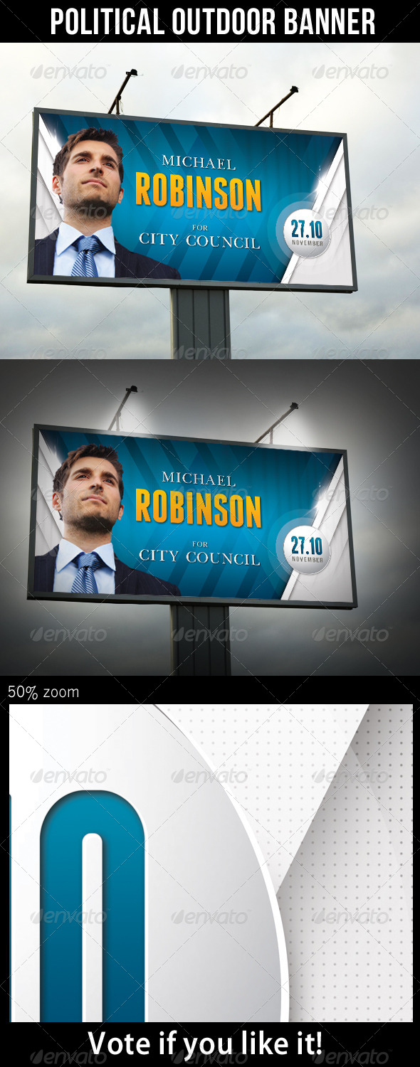 GraphicRiver Political Outdoor Banner 8780866