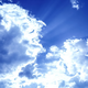 Clouds With Sunbeams  - VideoHive Item for Sale