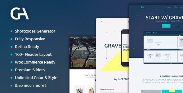 ThemeForest Gravedona Responsive Multi-Purpose Theme 8541171