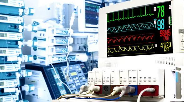 Cardiac Monitor In ICU