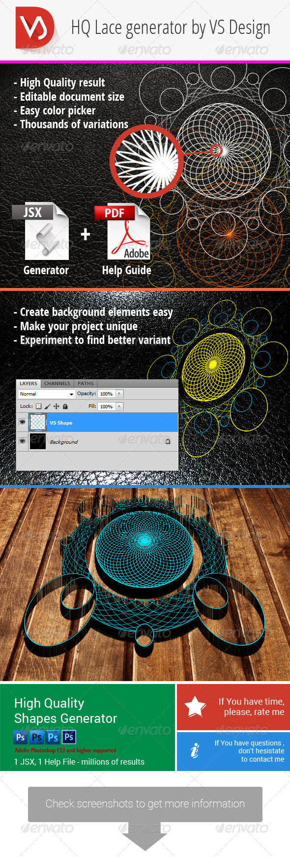 GraphicRiver High Quality Shape Generator 8781389