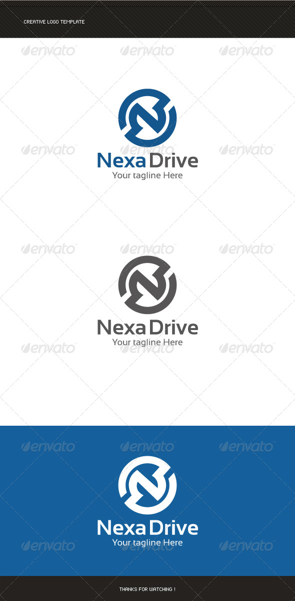 GraphicRiver N Letter Logo Template 8781618