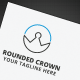 Rounded Crown Logo - GraphicRiver Item for Sale