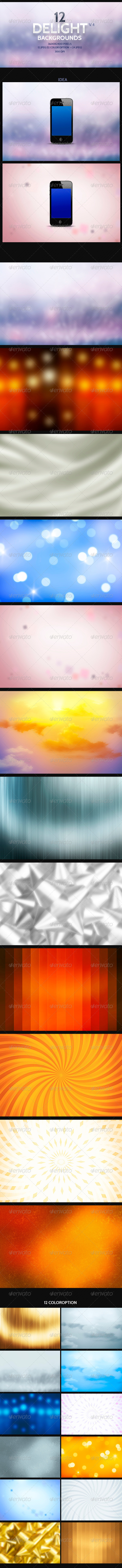 GraphicRiver Delight Backgrounds v4 8781733