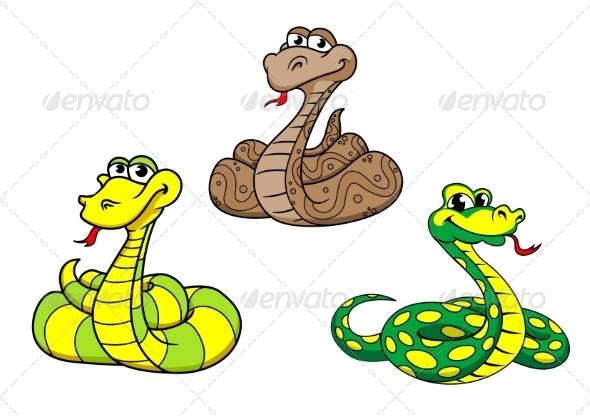 GraphicRiver Snake Cartoon 8781752