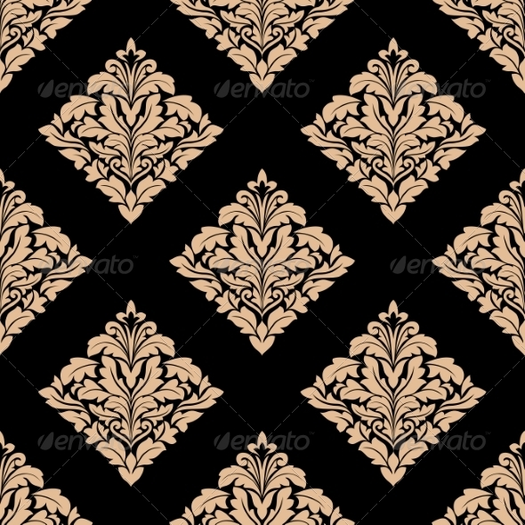 GraphicRiver Damask Pattern 8781921