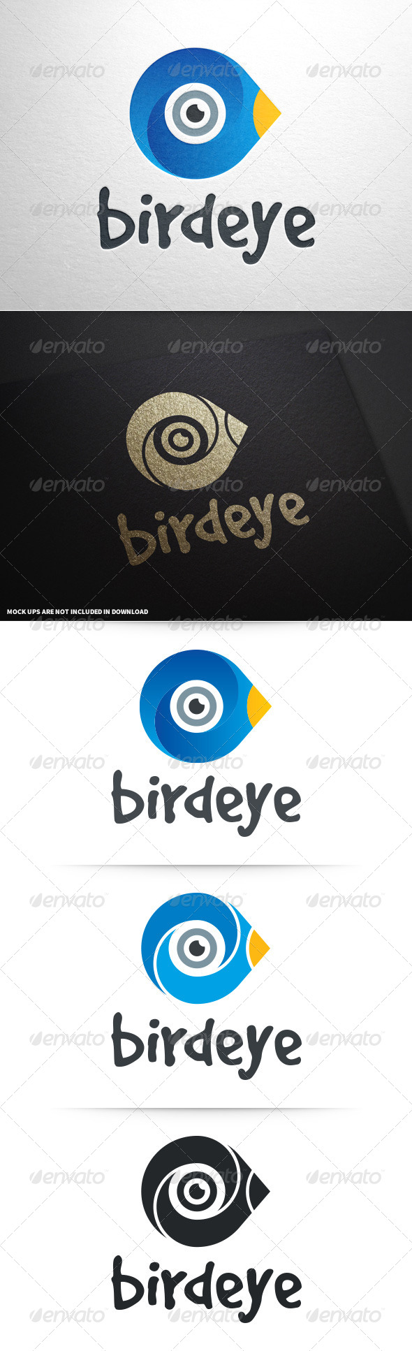 GraphicRiver Bird Eye Logo Template 8781967