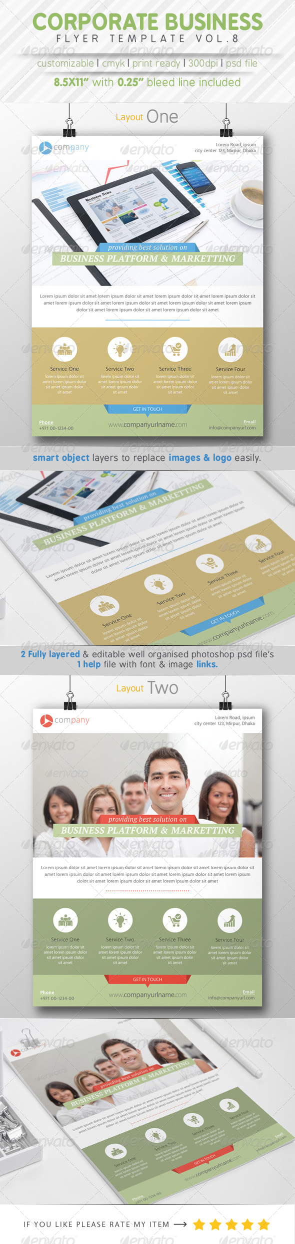 GraphicRiver Corporate Business Flyer Vol.8 8782092