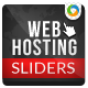 Web Hosting Sliders - 3 Designs - GraphicRiver Item for Sale