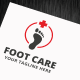 Foot Care Logo Template - GraphicRiver Item for Sale