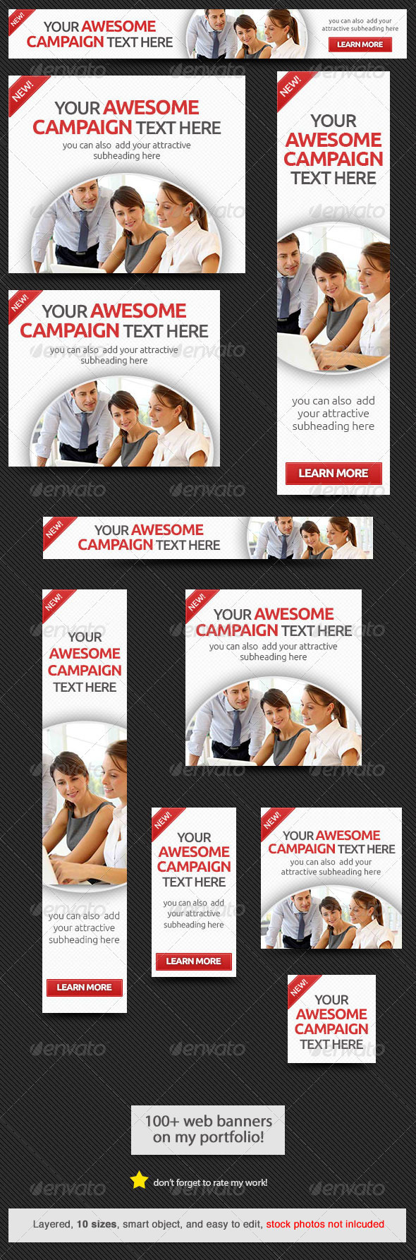GraphicRiver Corporate Web Banner Design Template 51 8782402