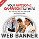 Corporate Web Banner Design Template 51 - GraphicRiver Item for Sale