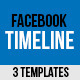 3 Facebook Timeline Covers  - GraphicRiver Item for Sale