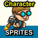 Game Assets Character Spritesheets - GraphicRiver Item for Sale