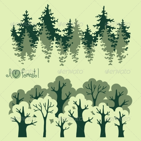 GraphicRiver Forest Banners 8782501