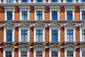 Detail of a beautiful old town house