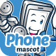 Phone Mascot - GraphicRiver Item for Sale
