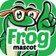 Frog Mascot - GraphicRiver Item for Sale