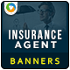 Banner Design for Insurance Agents - GraphicRiver Item for Sale