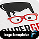 Super Geek Logo - GraphicRiver Item for Sale
