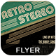 Retro Stereo Flyer - GraphicRiver Item for Sale